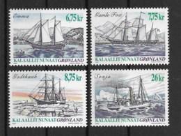 Grönland 2003 Schiffe Mi.Nr. 407/10 Kpl. Satz ** - Greenland