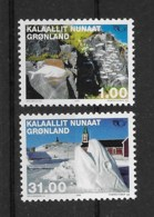 Grönland 2002 Norden Mi.Nr. 376/77 Kpl. Satz ** - Greenland