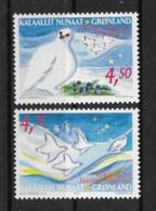 Grönland 2001 Weihnachten Mi.Nr. 374/75 Kpl. Satz ** - Greenland