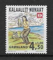 Grönland 2000 Trommeltanz Mi.Nr. 358 ** - Greenland