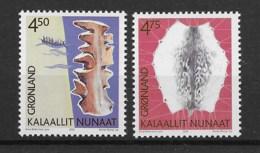 Grönland 2000 Kultur Mi.Nr. 356/57 Kpl. Satz ** - Greenland