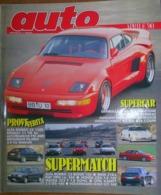 AUTO - N.4 - APRILE 1990 - ANNO VI - ALFA ROMEO 33 - AUTOBIANCHI Y10 4WD - RENAULT 21 TSE - MITSUBISHI PAJERO 3.0 V6 - Motori