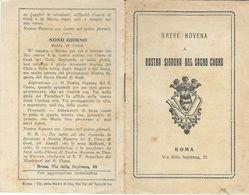 Libretto Novena Nostra Signora Sacro Cuore Roma (808) - Boeken, Tijdschriften, Stripverhalen
