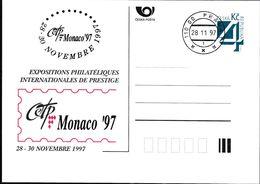 Cesca, 1997, P 26-A 8, MONACO - Ganzsachen