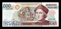 República Dominicana 500 Pesos Oro Commemorative 1992 Pick 140 SC UNC - Dominicana