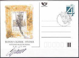 Cesca, 1997, P 26-B 3, RUDOLF CIGANIK - Ganzsachen