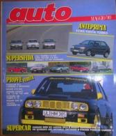 AUTO - N.5 - MAGGIO 1990 - ANNO VI - PORSCHE 911 CARRERA 2 - ROVER 214 GSI - CITROEN XM TURBO - NISSAN 200 SX - Motori