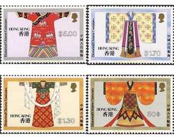 Ref. 140050 * MNH * - HONG KONG. 1987. TRADITIONAL CHINESE COSTUMES . TRAJES TRADICIONALES CHINOS - Hong Kong (...-1997)