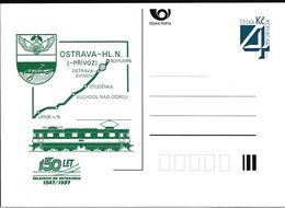 Cesca, 1997, P 26, Railway Locomotive, OSTRAVA, - Ganzsachen