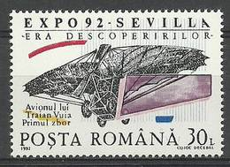 Romania 1992 Mi 4820 MNH ( LZE4 RMN4820 ) - Airplanes