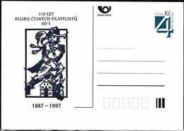 Cesca, 1997, P 26, KLUBU CESKYCH FILATELISTU - Ganzsachen