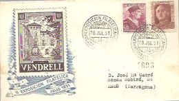 MATASELLOS 1951 TARRAGONA - 1931-Aujourd'hui: II. République - ....Juan Carlos I