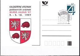Cesca, 1997, P 26, MLADA JIHLAVA '97 - Ganzsachen