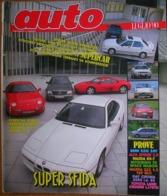 AUTO - N.7 - LUGLIO 1990 - ANNO VI - BMW 520I 24v - ALFA ROMEO SPIDER 2000 - MAZDA 323 1.3 16V/RX7 - FIAT CROMA 2000 SX - Motori