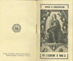 Libretto Novena Assunzione Maria SS. 1933 Miramare Rimini (810) - Boeken, Tijdschriften, Stripverhalen