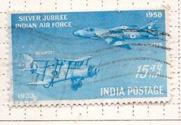PIA - INDIA  - 1958 : Francobollo Di P.A. - 25° Anniversario Della Forza Aerea Indiana - Aerei Wapiti  - (Yv P.A. 7) - Airplanes