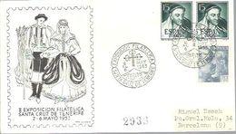 MATASELLOS 1953 SANTA CRUZ DE TENERIFE - 1931-Aujourd'hui: II. République - ....Juan Carlos I