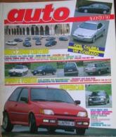 AUTO - N.8 - AGOSTO 1990 - ANNO VI - PEUGEOT 605 SV DT PLUS/405 GR X4 SW - ALFA ROMEO 164 QUADRIFOGLIO - AUTOBIANCHI Y10 - Motori