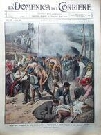 La Domenica Del Corriere 27 Luglio 1913 Moissi Policlinico Di Pavia Menfi Sahara - Libri, Riviste, Fumetti