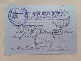 REGNO 1938 - Cartolina Precetto Legione Milizia Da Costa + Spese Postali - Marcofilía