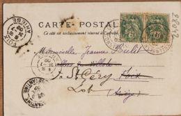 Alg020 CONSTANTINE Les ARCADES ROMAINES 1903 De LASSARADE Aiguillon à BULIT Saint Gery Lot BAZAR Du GLOBE V.P 441 - Constantine