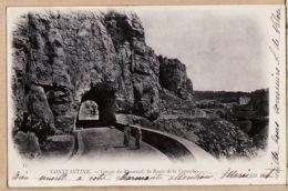 Alg028 CONSTANTINE Gorges Du RHUMMEL Route De La CORNICHE Le 21-11-1902 à BULIT Allées Villotte Foix NEURDEIN 11 - Constantine
