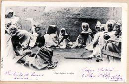 Alg029 Algérie UNE ECOLE ARABE De Grazzia Antoni Place Isly ALGER  à BULIT Allée Villote Foix - Algeria