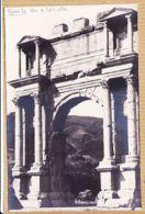 Alg063 Rare Carte-Photo DJEMILA Arc CARACALLA Et  Tribunes Aux HARANGUES Algérie OFALAC -1920s - Altre Città
