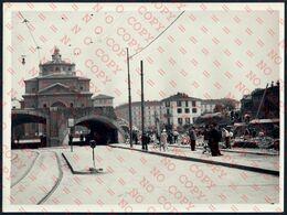 MILANO DEMOLIZIONE PONTE GALILEO E PALAZZO DELLE POSTE X VECCHIA STAZIONE CENTRALE 4.7.1933 - FOTOGRAFIA ORIGINALE - Lieux