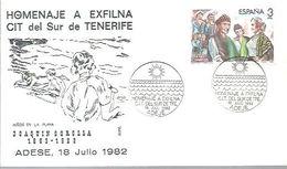 MATASELLOS 1982 ADEJE - 1931-Hoy: 2ª República - ... Juan Carlos I