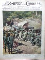 La Domenica Del Corriere 17 Agosto 1913 Pale Tiepolo Morello Rockefeller Monete - Libri, Riviste, Fumetti