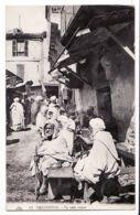 Alg151 CONSTANTINE Algérie Au Café MAURE Scene De Rue 1910s CHAPELLE 113 Algeria Algerij - Constantine