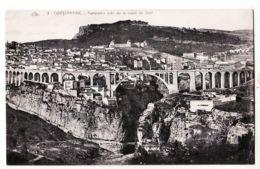 Alg152 CONSTANTINE Algérie Route De SETIF Panorama Pont SIDI RACHED 1910s CHAPELLE 3 Algeria Algerij - Constantine