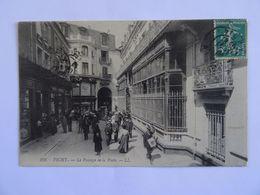 CPA  03 VICHY Le Passage De La Poste  1909 TBE - Vichy