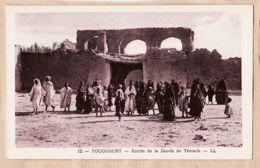 Alg231 Algerie TOUGGOURT Entrée De La  ZAOUÏA De TEMACIN 1930s - LEVY NEURDEIN N°12 -ALGERIA - Altre Città