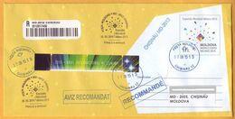 2015 Moldova Moldavie Moldau .World Expo Milano 2015  Postal History - 2015 – Mailand (Italien)