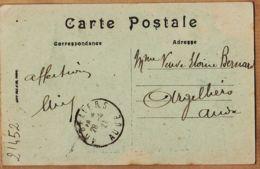 Alg254 Autographe ELIE BERNARD 28.04.1921 De BLIDA CHIFFA Chalet Hotel Ruisseau à Sa Mere Eloïne Argelliers Aude - Blida