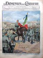 La Domenica Del Corriere 5 Ottobre 1913 Salsa Alcool Mambretti Pupazzi Bergues - Libri, Riviste, Fumetti