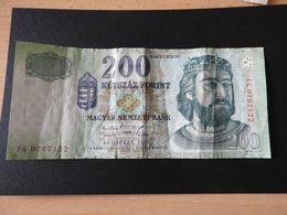 Banknote Ungarn 200 Forint  Budapest 1998 Gebr. - Hungary
