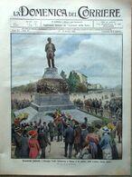 La Domenica Del Corriere 12 Ottobre 1913 Verdi Claretie Musso Bernhardt Benelli - Libri, Riviste, Fumetti
