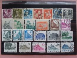 CINA Anni '60 - Lotticino 24 Francobolli Differenti + Spese Postali - 1949 - ... People's Republic