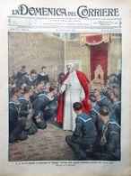 La Domenica Del Corriere 23 Novembre 1913 Mecnikov Lili Boulanger Tarhuna Tetuan - Libri, Riviste, Fumetti