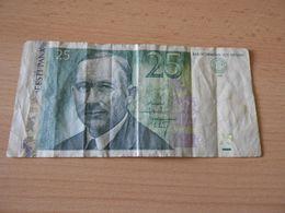 Bank Of Estonia 25 Kronni 2002 Gebr. - Estland