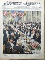 La Domenica Del Corriere 30 Novembre 1913 Palatino Siccità In Puglia Venezia Usa - Libri, Riviste, Fumetti