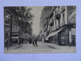 CPA  03 VICHY Rue De Nimes 1916 TBE - Vichy