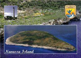 1 AK Ansichten Der Karibik Insel Navassa - Luftbildaufnahme Und Der Leuchtturm - Das älteste Überseegebiet Der USA * - Antillen