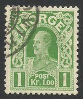 Norway, 1 K. 1911, Sc # 70, Mi # 89, Used. - Gebraucht