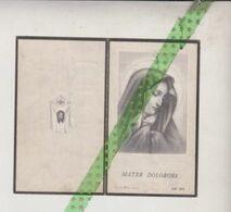 Marie Elodie Taelman-De Wambersie, Bevere-Oudenaarde 1867, Moregem 1952 - Avvisi Di Necrologio