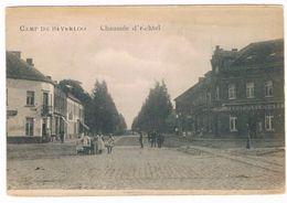 Camp De Beverloo - Chaussée D'Echtel 1909  (Geanimeerd) - Leopoldsburg
