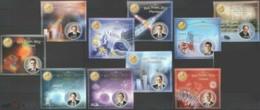 PE213-222 2013 GREAT SCIENTISTS NOBEL PRIZE WINNERS FAMOUS PEOPLE 10BL MNH - Nobel Prize Laureates